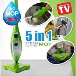 Plastic 5 In 1 Steam Cleaner, For Floor Cleaning, Size: Standard