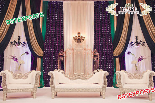 Modern Wedding Stage Backdrop Curtains At Rs 100 Piece Wedding