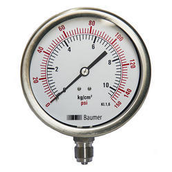 Baumer Pressure & Temperature Gauge