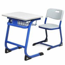 Zuma  Standard Single Seat School Chair Bench Desk