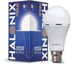 Round 9W Halonix Inverter LED Bulb
