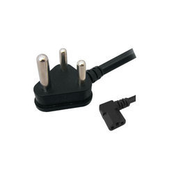 L Type Computer Power Cord