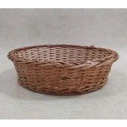 Willow Round Basket Deep