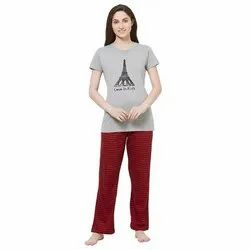 Evolove Women's Pajama T Shirt Sets