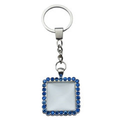 Square Diamond UV Keychains