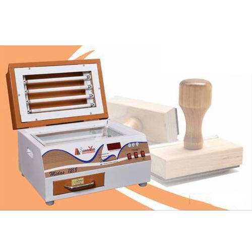 Rubber Stamp Making Machine at Rs 8500 /piece | रबड़ की ...