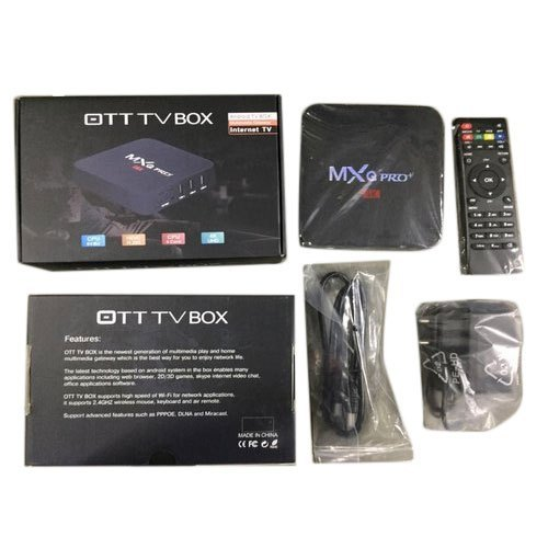 TV Box - MXQ Pro Android TV Box Importer from New Delhi
