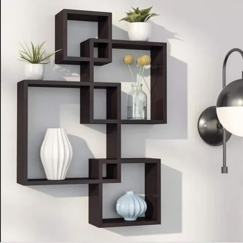 Amaze Wooden Wall Mounted Shelf