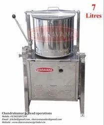 7 Litres Capacity Commercial Tilting Wet Grinder Light Box Type