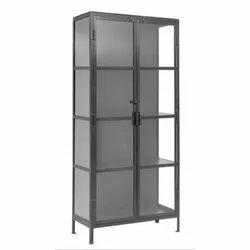 Double Door 6 Feet Iron Cupboard