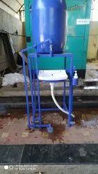 Black M.S. Foot Operated Washbasin, Model Name/Number: Fwb