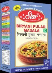 Star Biryani Masala, Packaging Type: Box