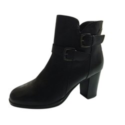 Casual Ladies Black Long Leather Boot, Packaging Type: Box