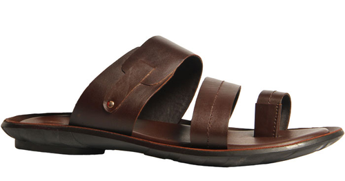 b0ce4e7c6c27 Synthetic Bata Brown Chappals For Men F874400500