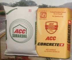 ACC Suraksha Cement And Concrete, Grade: 43