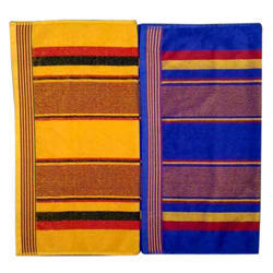 Fancy Cotton Bath Towel for Home, Packaging Type: Poly Bag