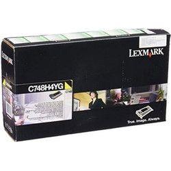 Lexmark Toner Cartridge Yellow C748H4YG