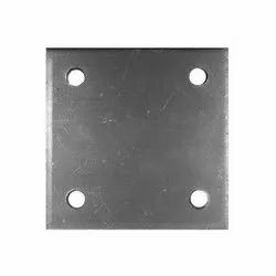 Mild Steel MS Base Plate, For Construction Site, Size: 2x2 Feet