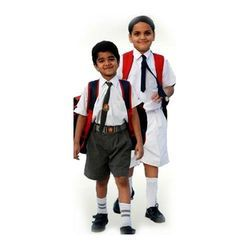 Cotton Plain Kids School Uniform