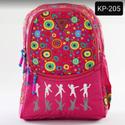 Printed Pink Kids School Bag
