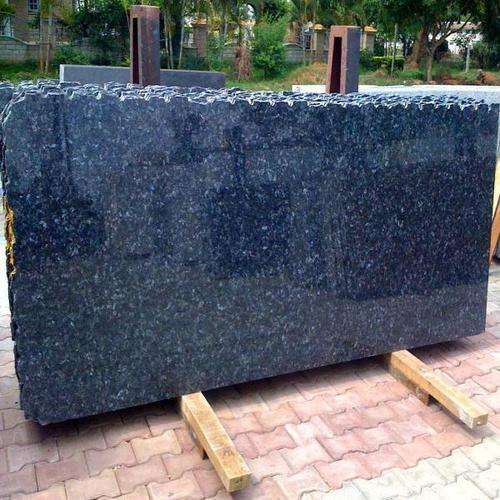 Blue Pearl Granite Stone Thickness 15 20 Mm Rs 150 Square Feet Oswal Marbles Id 4302603155