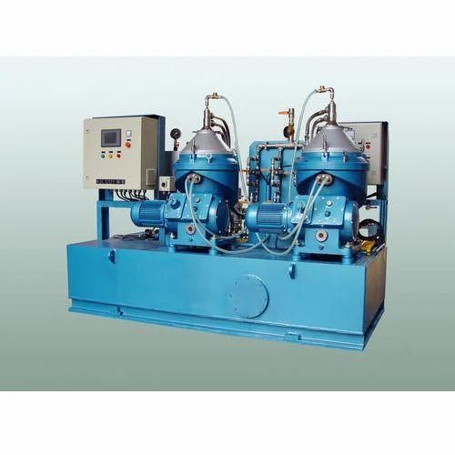 Marine Automatic Oil Separator, Capacity: 2000lph