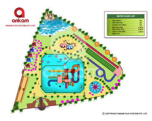Ankam Pool Water Park Theme Solution