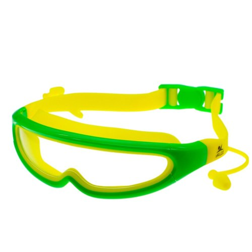 1a50beb0349 JERN Kids Silicone Swim Anti-Fog Goggles with Conjoined Earplugs at ...