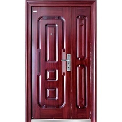 Mahogany Wooden Door, Size/Dimension: 2050 X 1200 X 70 Mm (M/L)