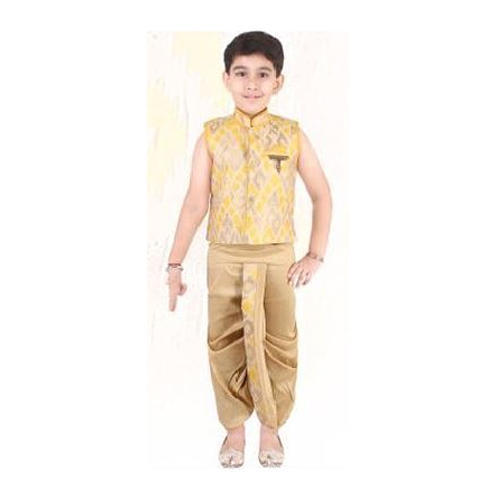 2af30b163c7e Boys Yellow Stylish Ethnic Suit at Rs 1125 /piece | Kids Ethnic Wear ...