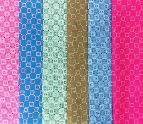 "Printed 35-36"" Cotton Khadi Print Fabric for Nighty - Rajwadi, GSM: 200-250"