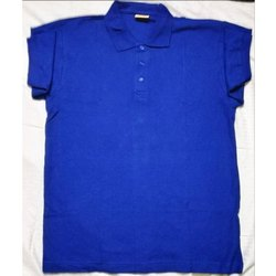 Men''s Polo Neck Cotton T Shirt