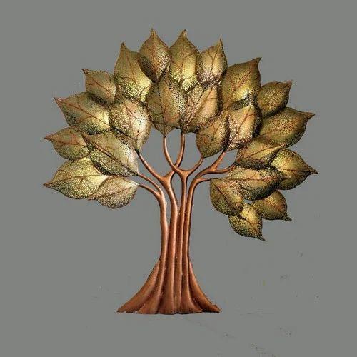 5fad2d0fc5 Home Decoration Multicolor Decorative Metal Tree Wall Decor, Rs 6000 ...