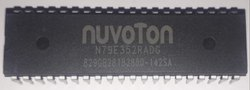 8051 N79 Microcontroller IC 8-Bit 24MHz 8KB (8K x 8) FLASH N79E352RADG NUVOTON