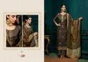 Brown Kota Designer Palazzo Suit