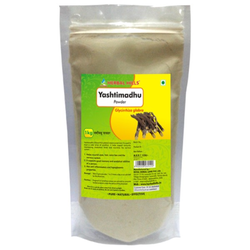 Premium Quality Yashtimadhu/Mulethi/Licorice (Glycyrrhiza Glabra) Powder - 1kg