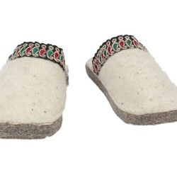 fff68ded7e65 House Slipper - Off White Color With Colorful Lace - 800002. Rs 1