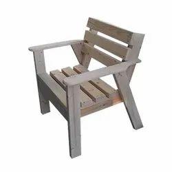 Modern Garden Chair Wooden Chair, No Of Legs: 4