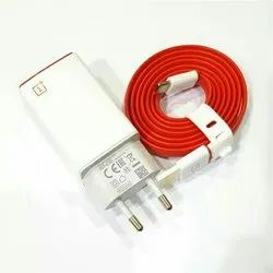 White Type C One Plus Charger