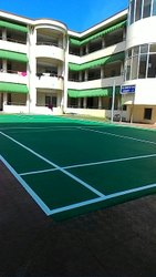 Outdoor Badminton Court Flooring
