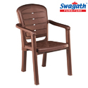 Urbano Daddle Brown Chair