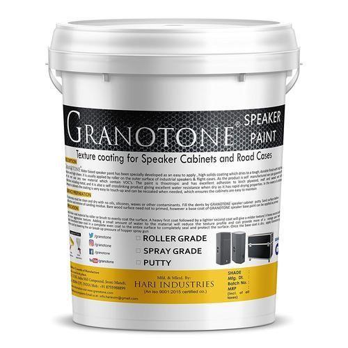 Strange Granotone Acrylic Roller Grade Speaker Cabinet Texture Coating Paint Download Free Architecture Designs Photstoregrimeyleaguecom