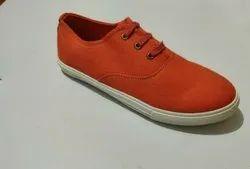 Plain Ladies Canvas Shoes