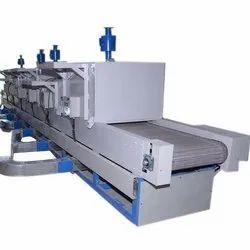 Electric Industrial Conveyor Oven, Capacity: 1000-2000 Kg