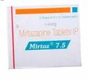 Mirtaz 15mg Tablet