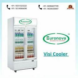 Euronova White Visi Cooler, Number Of Doors: 2, Storage Capacity: 1100 Ltr