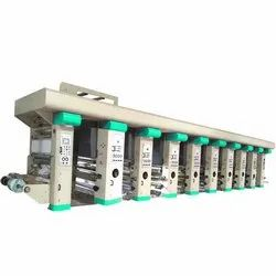 8 Color Rotogravure Printing Line