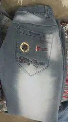 Comfort Fit Cotton Eagle Jeans