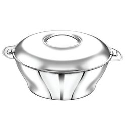 Stainless Steel Bloom Plain Hot Pot