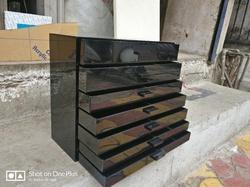 Black Acrylic Cosmetic Boxes